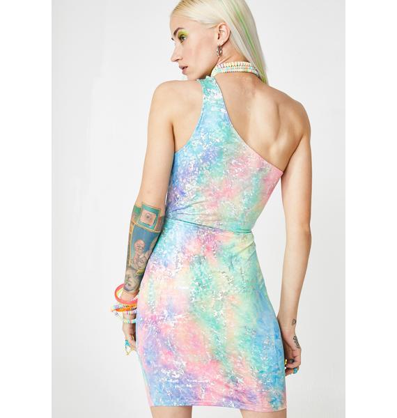 Freaky Fusion Mini Dress