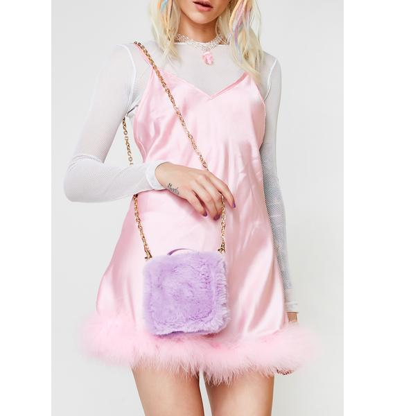 Sugar Thrillz Kawaii Fuzz Crossbody Wallet