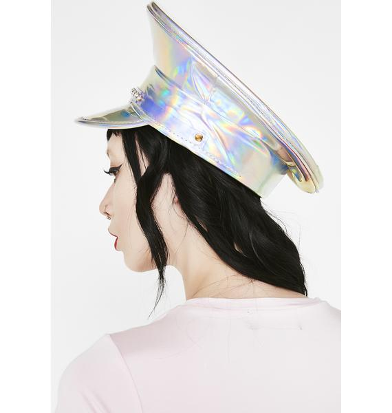 Funk Plus Cosmic Shine Captain Hat