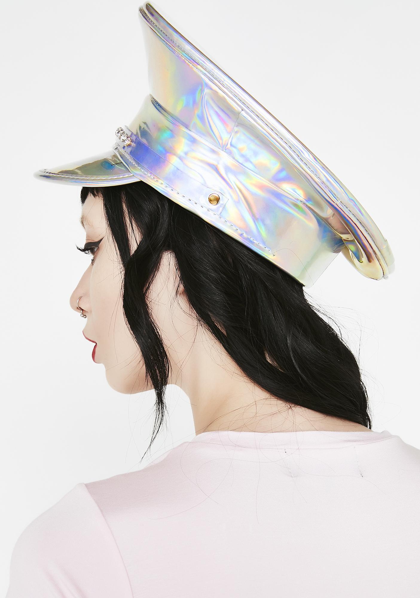 Cosmic Shine Captain Hat
