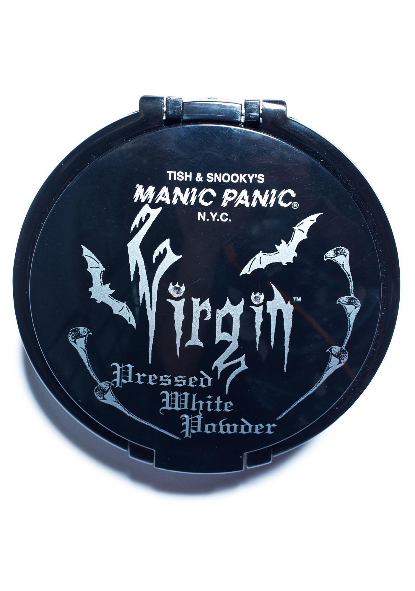Manic Panic Virgin Pressed Powder Compact