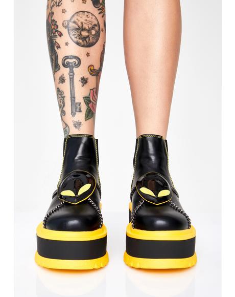 Area 51 Platform Boots