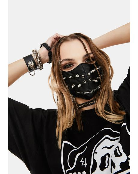Hanging Chains Face Mask