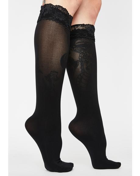 Delicate Feeling Knee High Socks