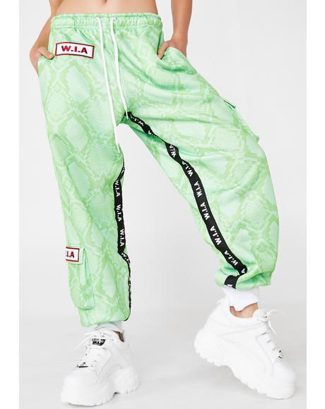 Slime Serpente Jogger Pants