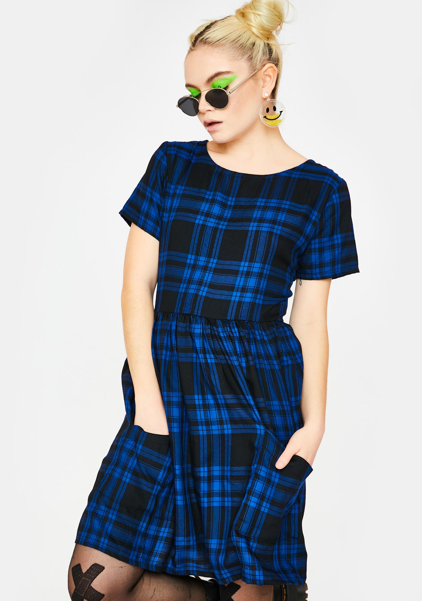 Tallulah's Threads Checked Out Tartan Dress