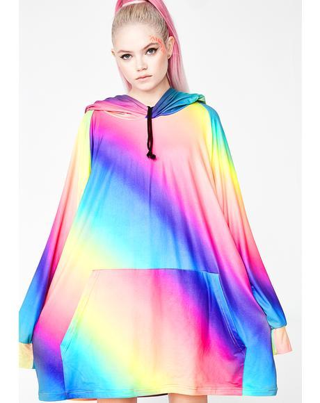 Rainbow Bright Unisex Hoodie