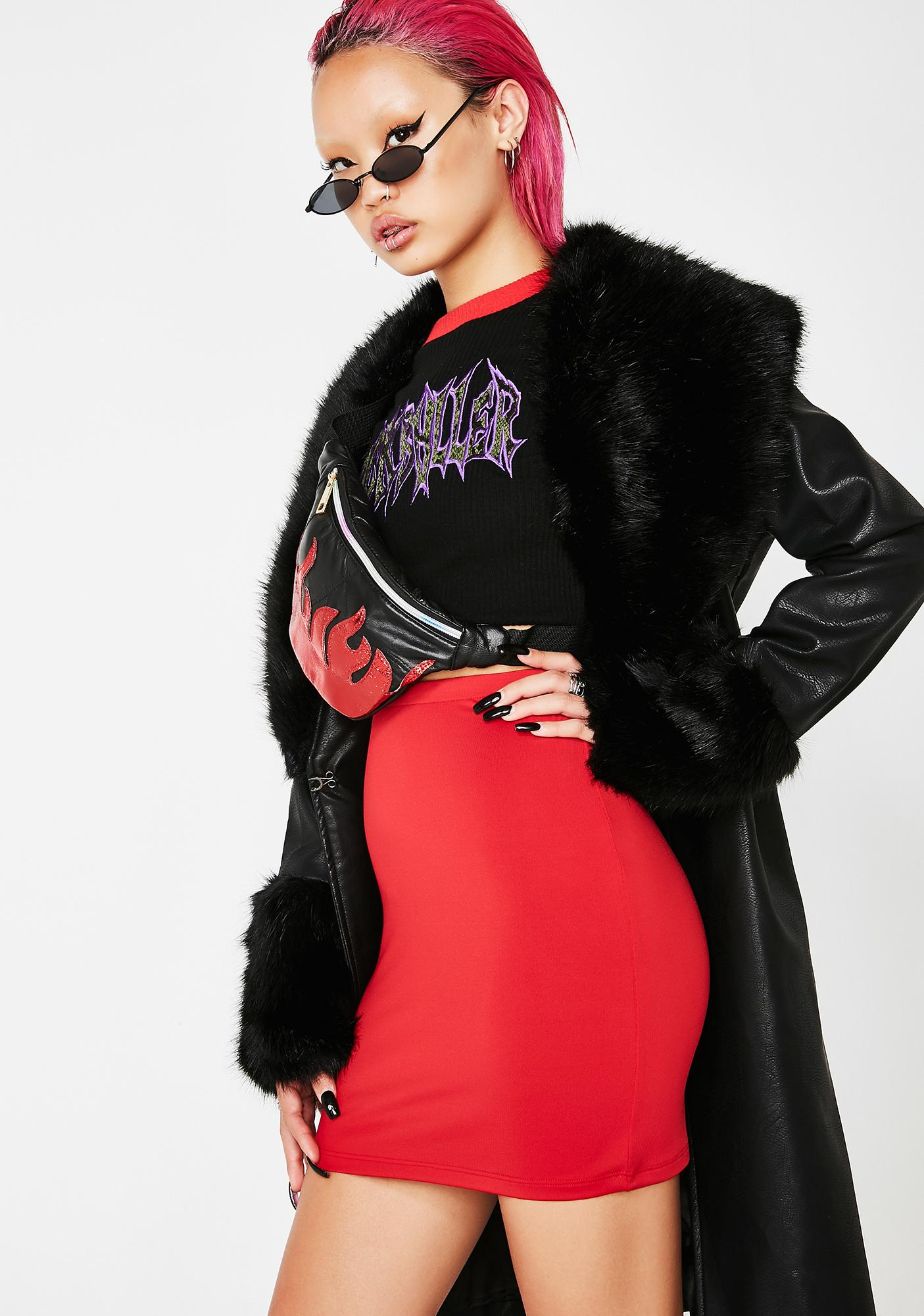 Kiki Riki Slay Machine Mini Skirt