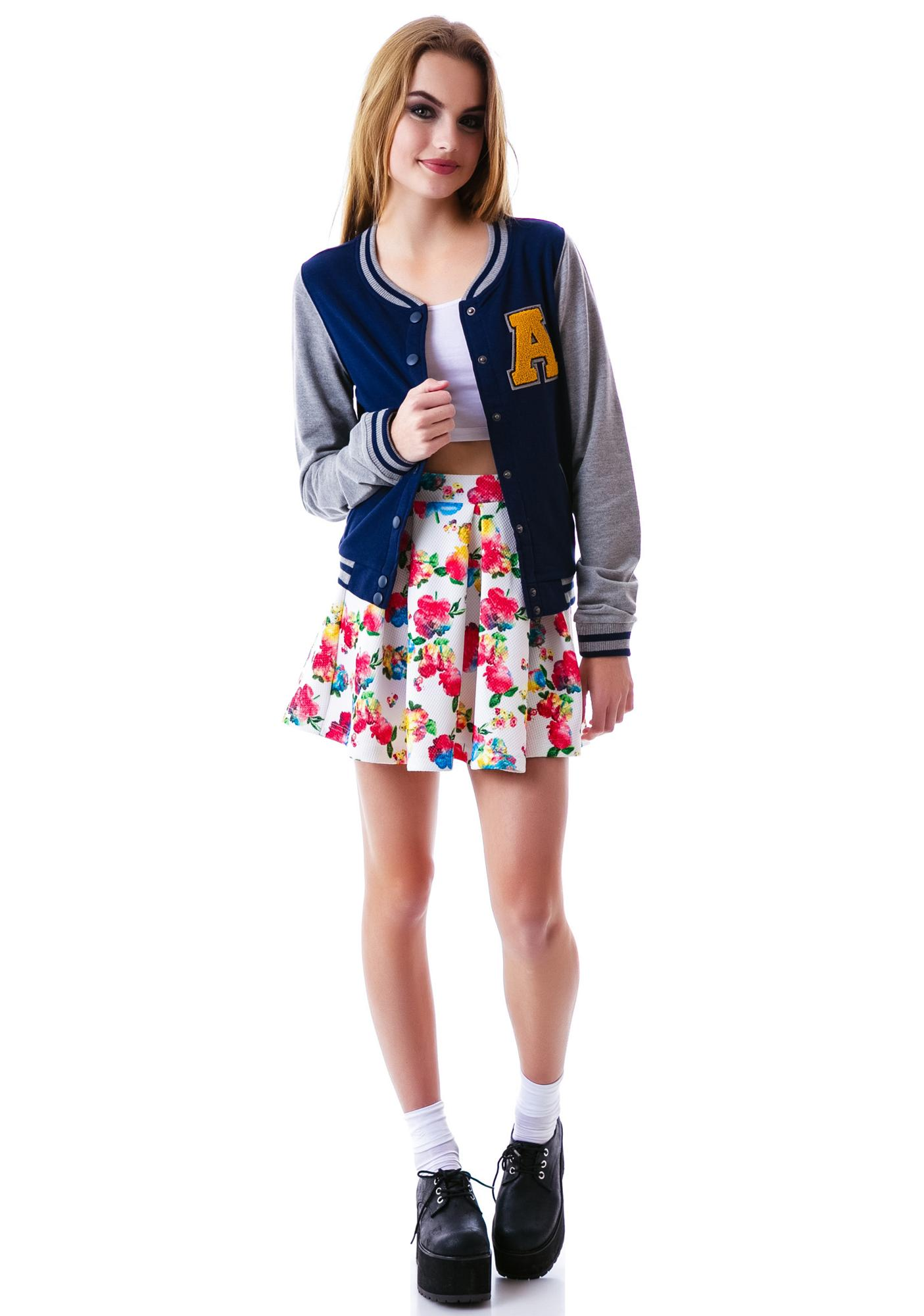 A Team Varisty Bomber Jacket