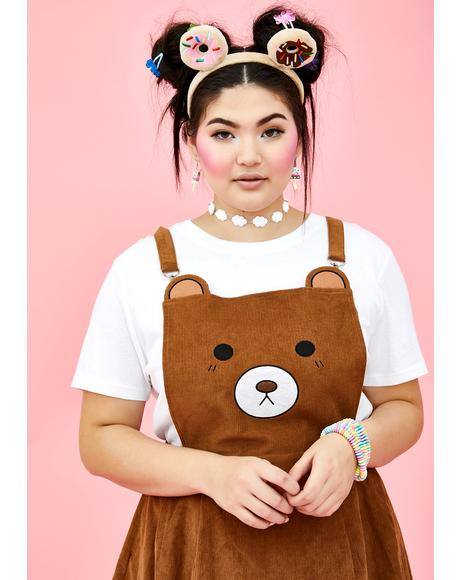 Your BB Bear Pinafore Dress