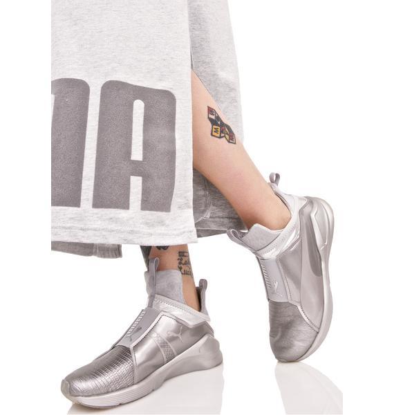PUMA Fierce Metallic Sneakers