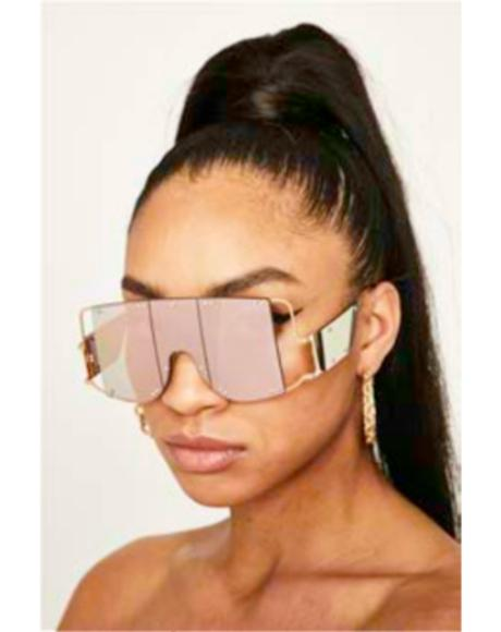 Sweet Club Clout Shield Sunglasses