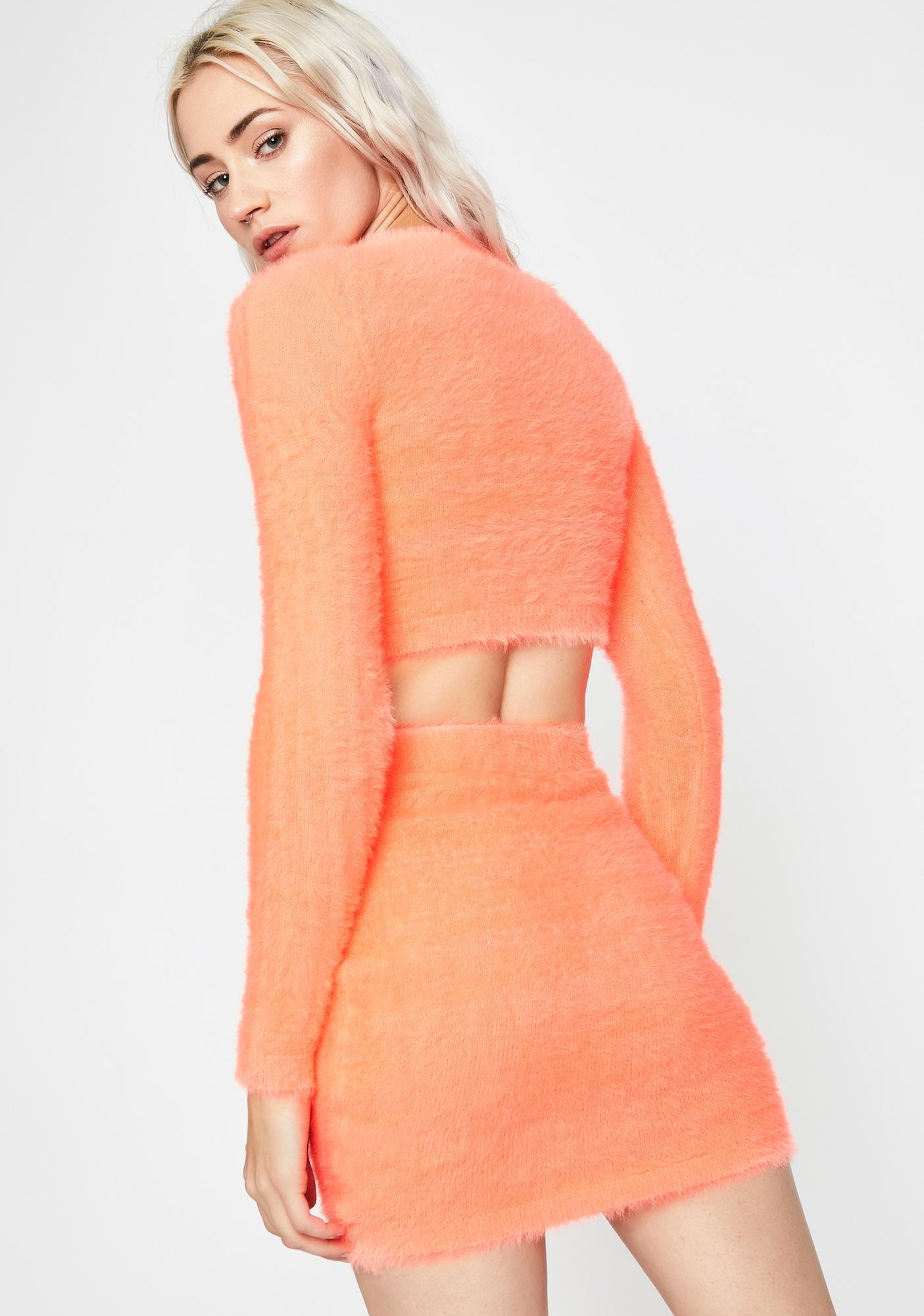 Tangy Fuzzy Freaq Skirt Set