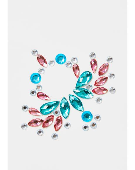 Sunburst Carnival Body Gems