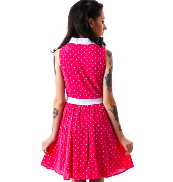 Sourpuss Clothing June All Dolled Up Dress