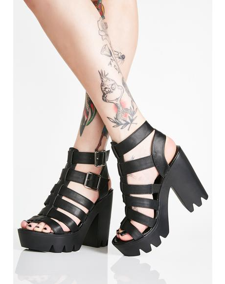 Lose Yourself Platform Heels
