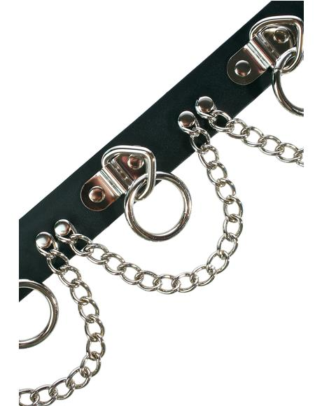 Twisted Metal Chained Belt
