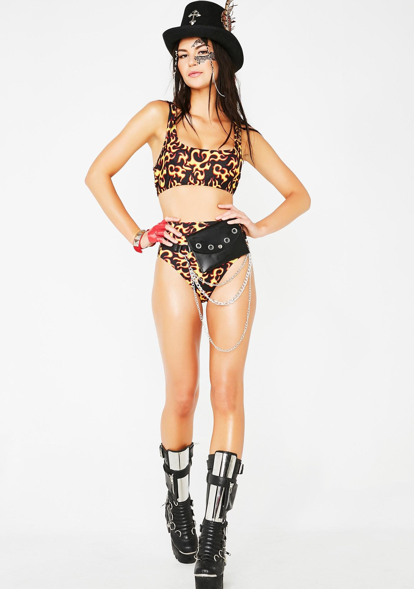 Hell Or High Water Bikini Set
