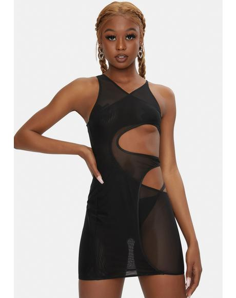 Giselle Mesh Cover Up Dress