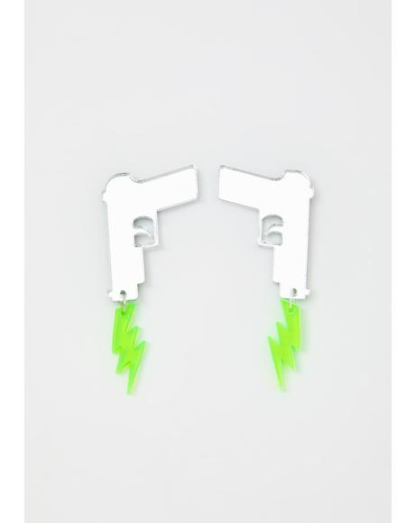 Pop Off Acrylic Earrings