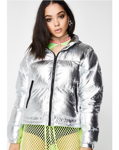 Blow Your Mind Puffer Jacket