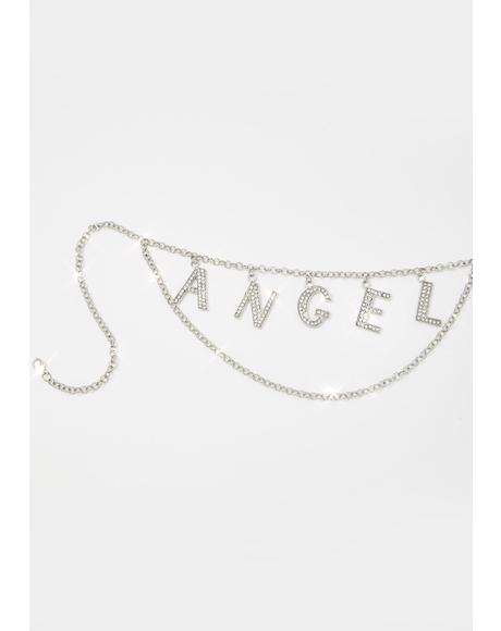 Your Personal Angel Rhinestone Belt