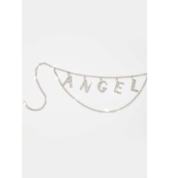 Your Personal Angel Rhinestone Belt