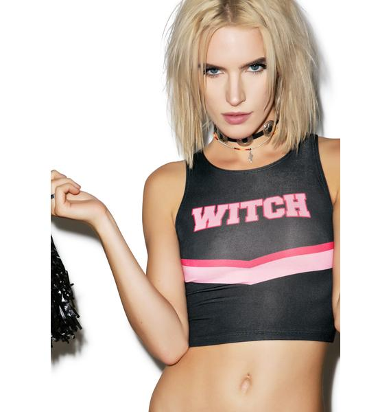 O Mighty Team Witchery Crop Top