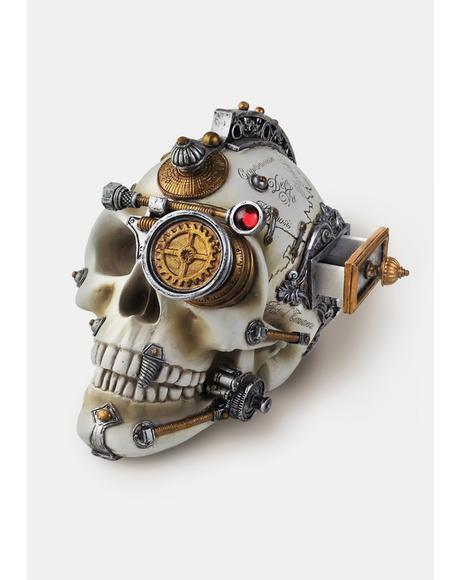 Erasmus Darwin's Steam Cerebrum Skull