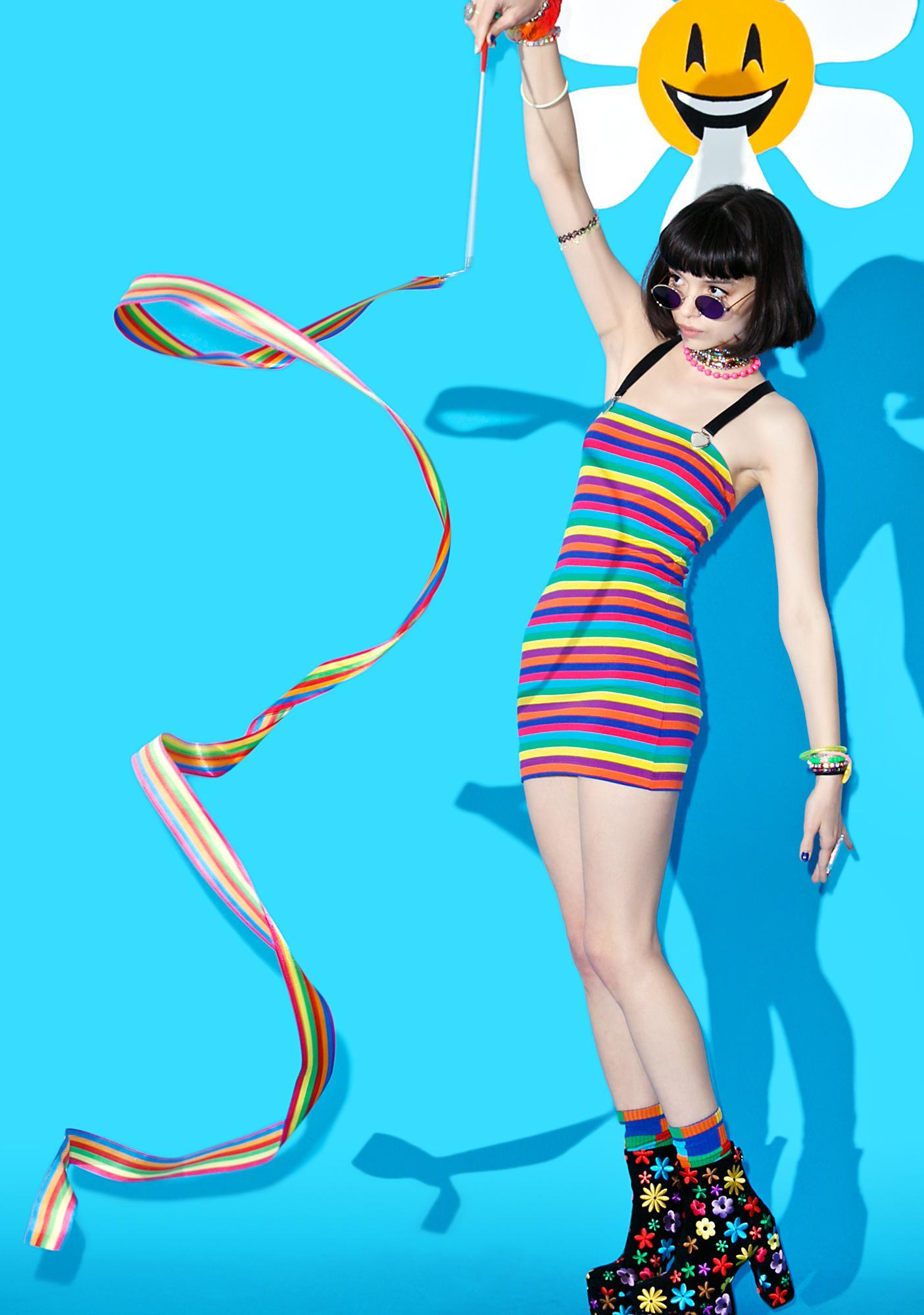 Suzywan Deluxe Unexpected Fun Rainbow Stick