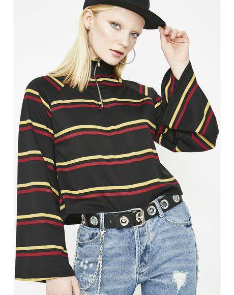 Wicked Bae Season Stripe Top
