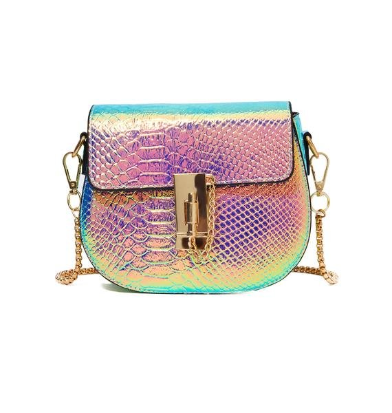 Serpent's Kiss Holographic Purse