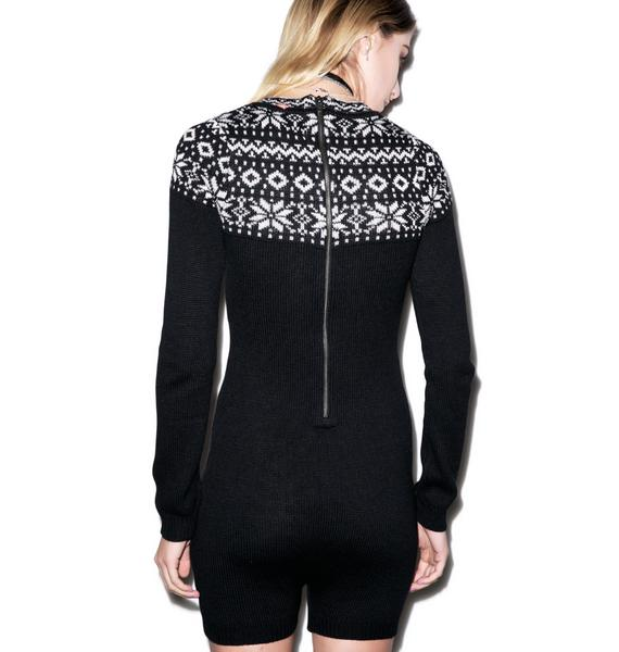 For Love & Lemons Snowflake Jumper