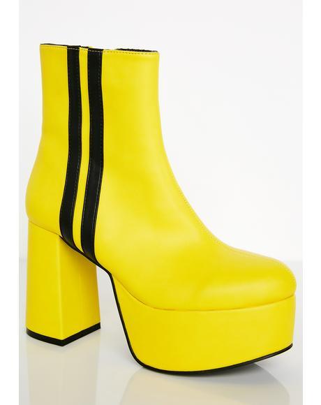 Beatrixxx Baddie Platform Boots