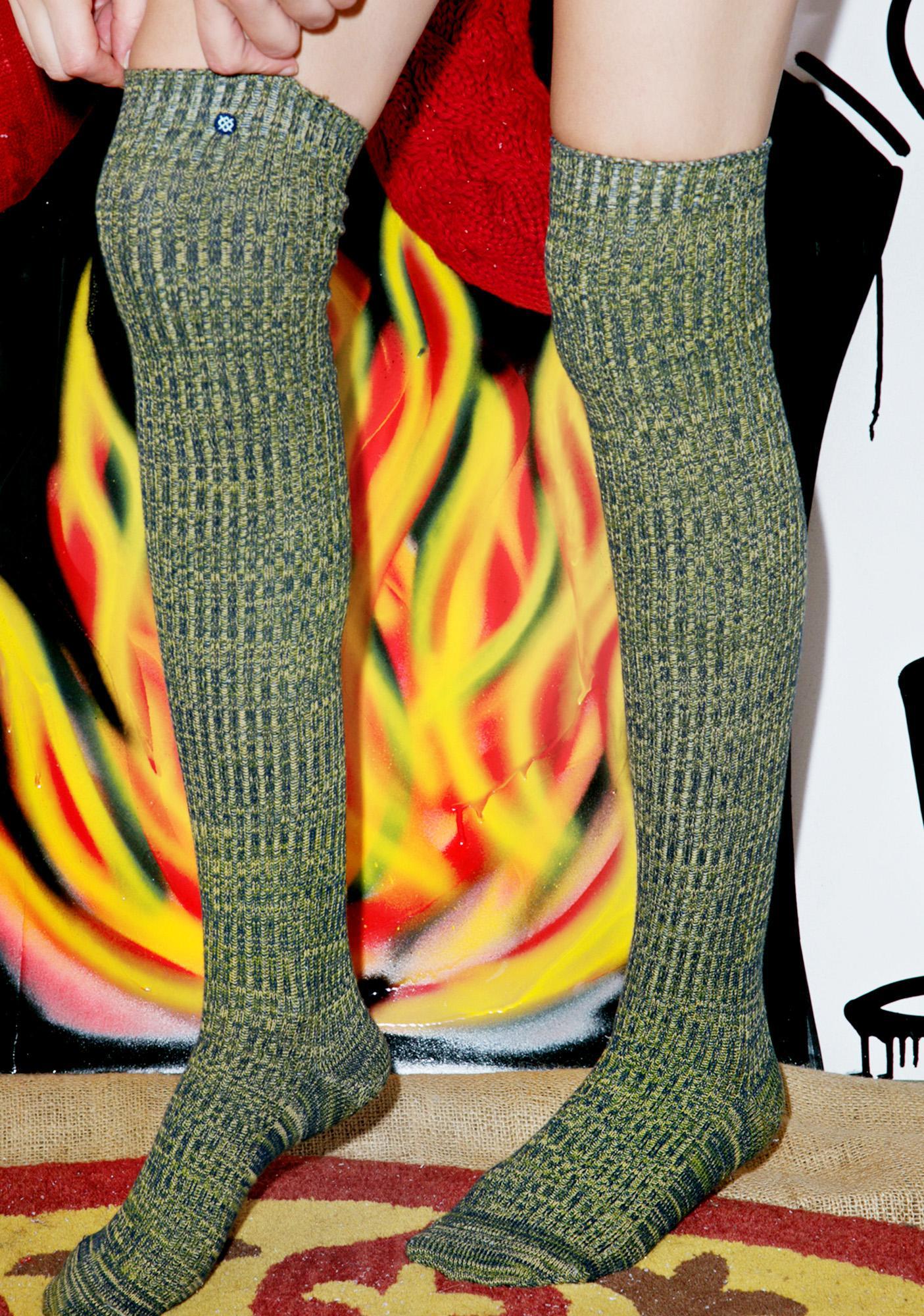 Stance Matchsticky Thigh-High Socks
