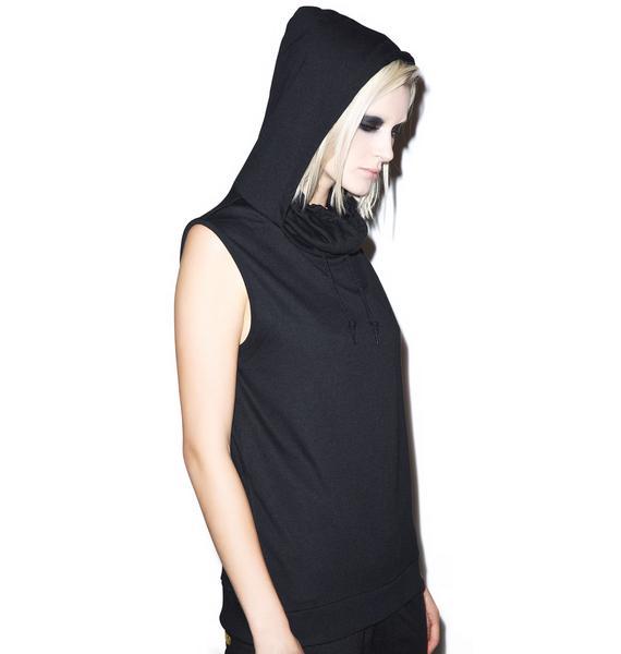 Sleeveless Kino Ninja Hoodie