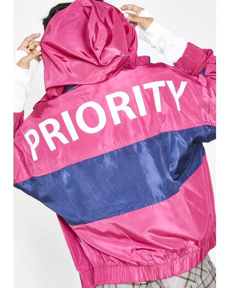 #1 Priority Windbreaker Jacket