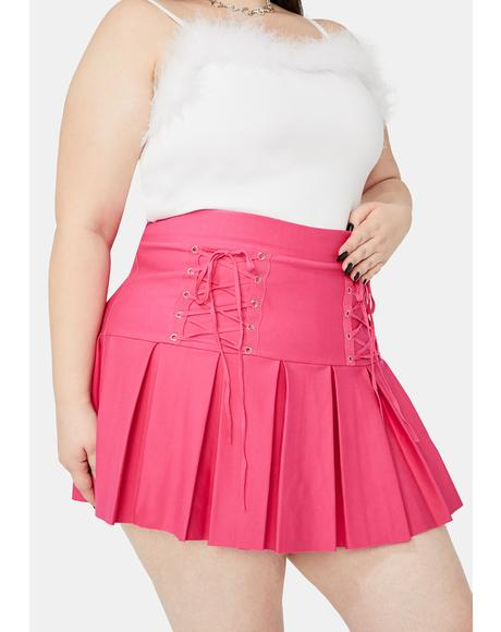 Miss Candy Modern School Girl Pleated Skirt
