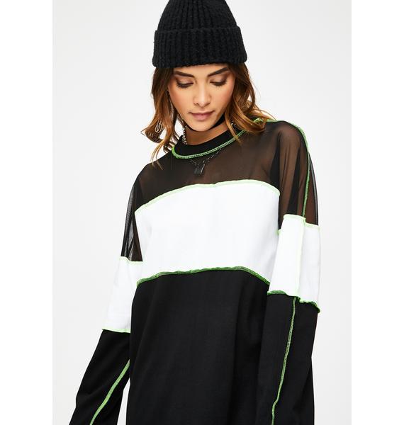 The Ragged Priest Exist Mini Dress
