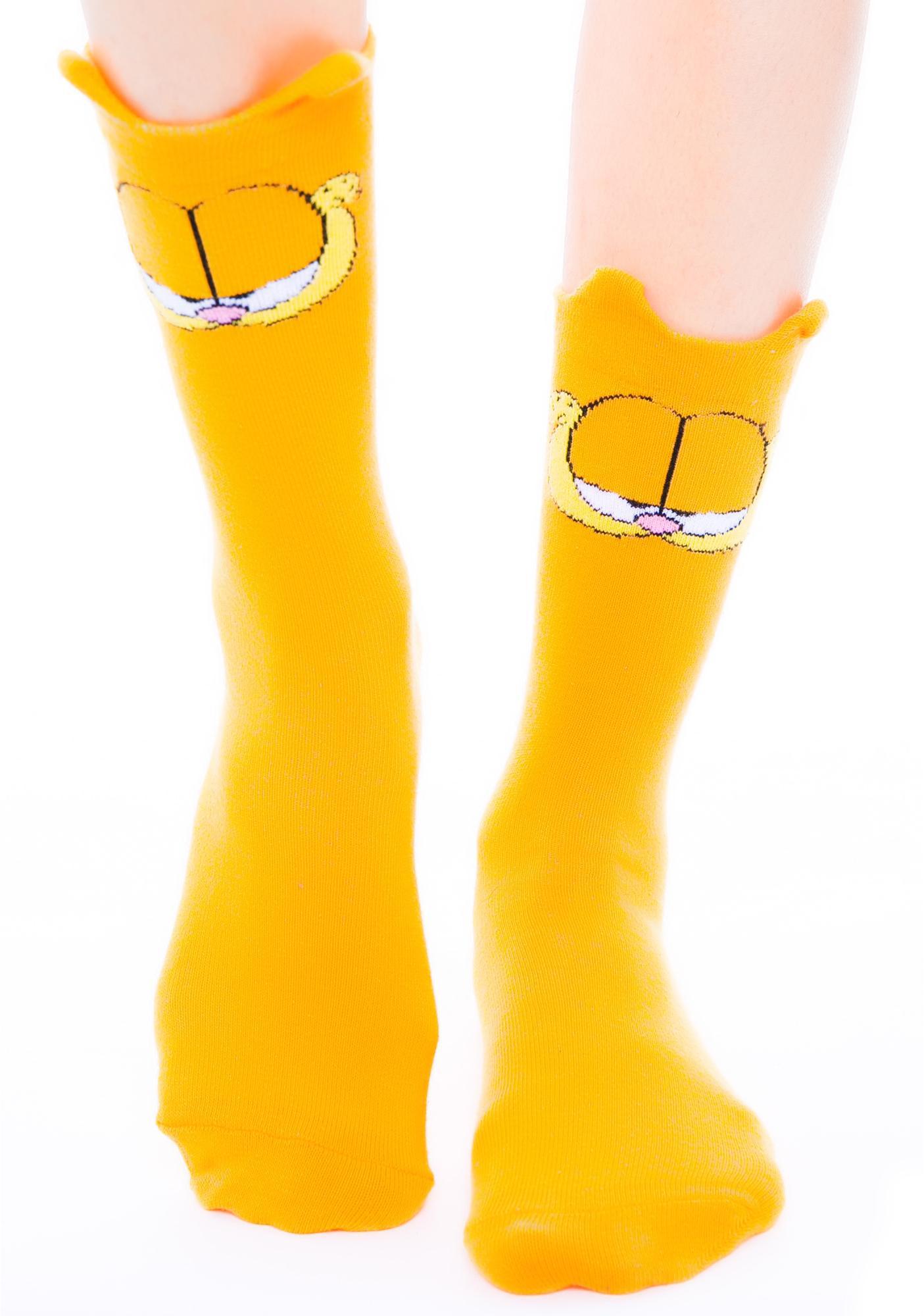 Lazy Oaf X Garfield Socks Dolls Kill