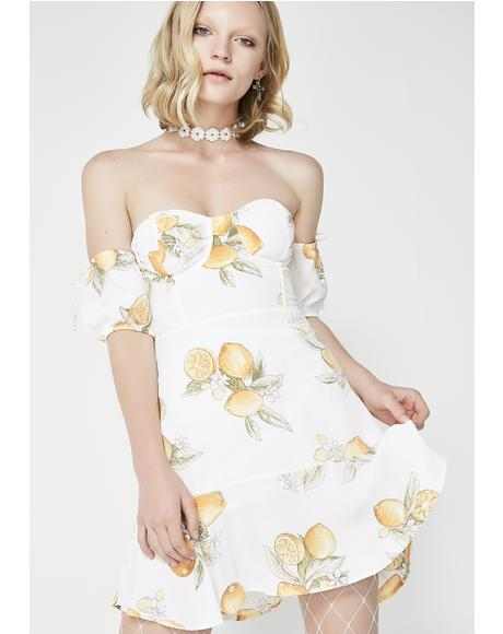 Lemonade Mini Dress