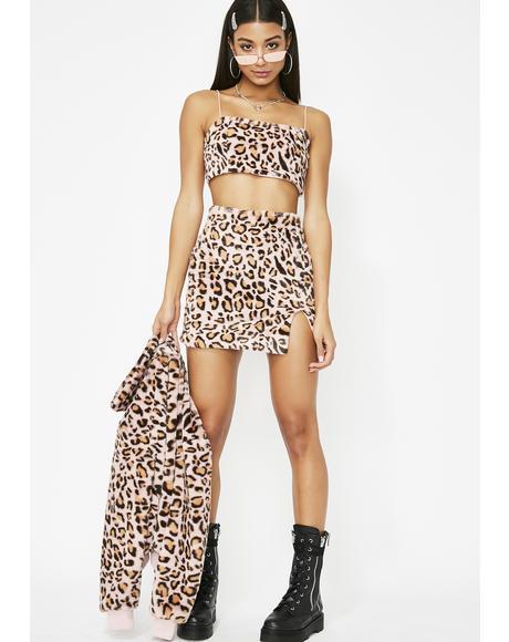 Boujee Babe Leopard Set
