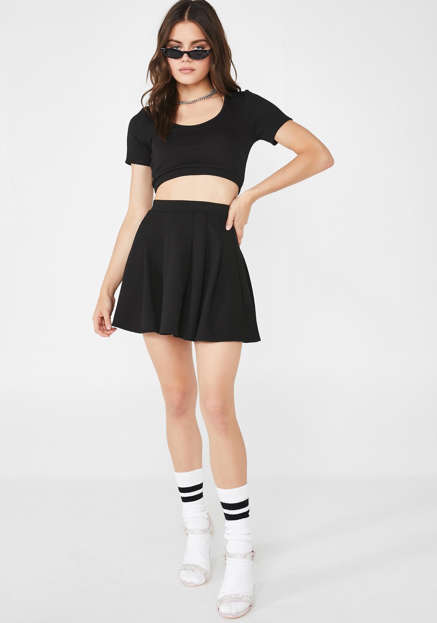 Tragic Classic Heartbreaker Skirt Set