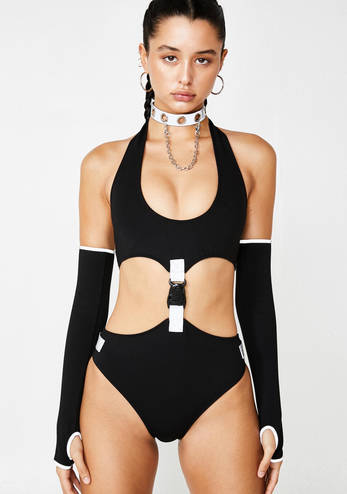 Poster Grl Can't Be Copied Bodysuit Set