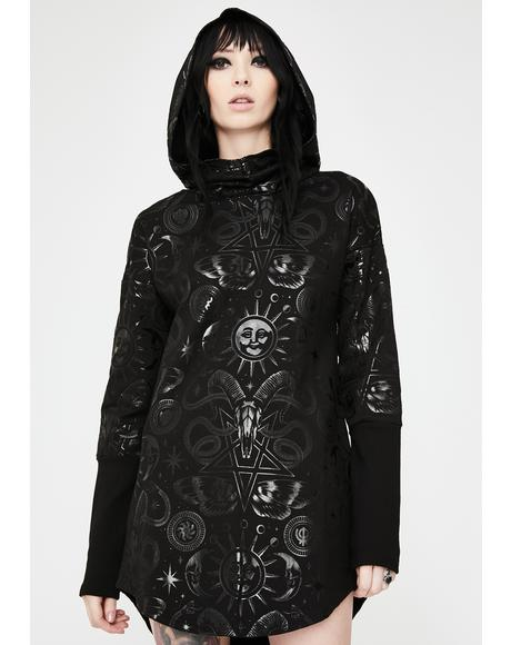 Lift The Veil Hooded Tunic