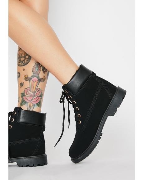 Street Smartz Lace Up Booties