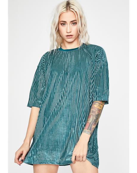Tryna Hang Velvet Dress