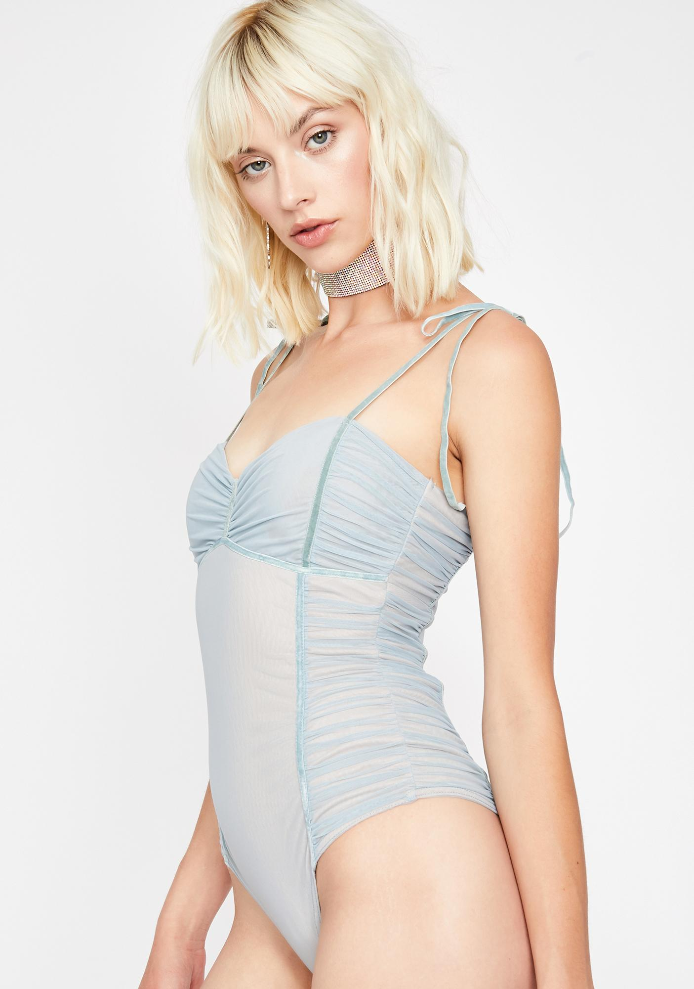 Addicted To U Ruched Bodysuit