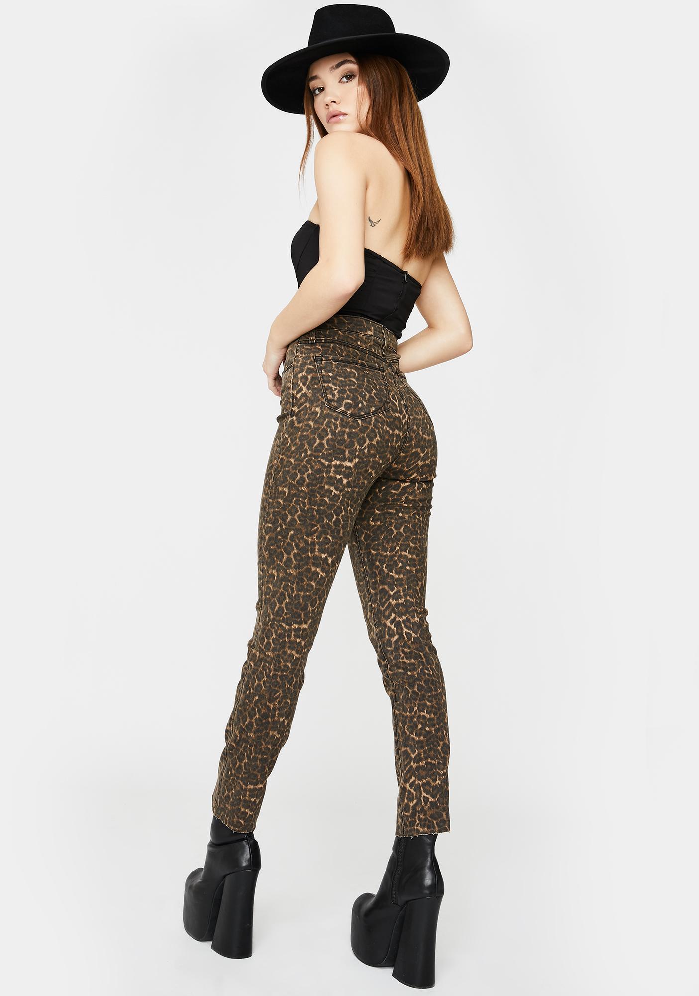 SNDYS. THE LABEL Feline Skinny Jeans