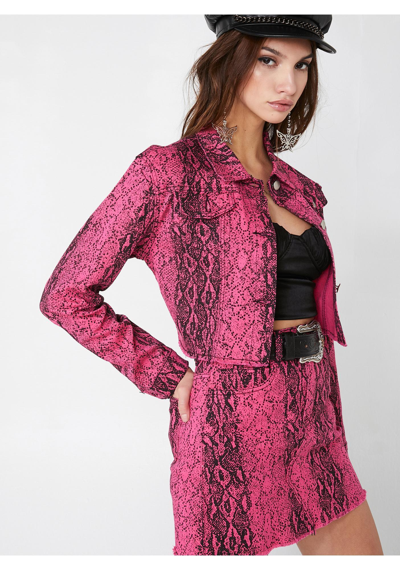 Lady Danger Snakeskin Jacket